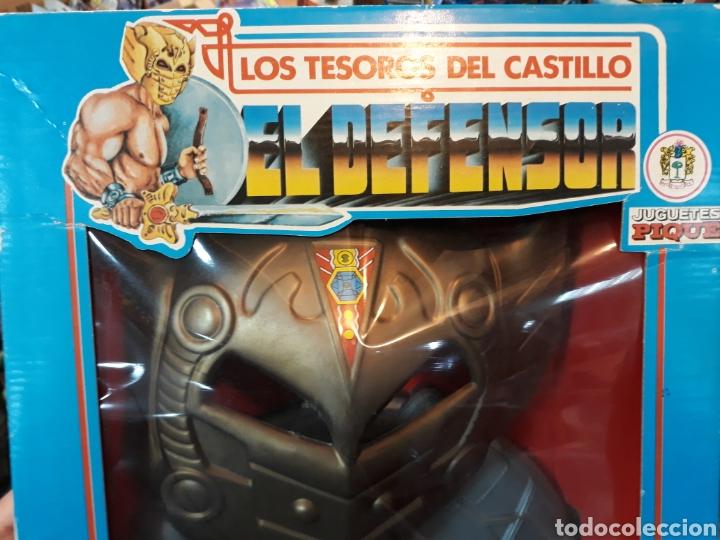 Figuras Masters del Universo: Disfraz con hacha escudo y máscara MÁSTERS DEL UNIVERSO bootleg - Foto 3 - 119284019