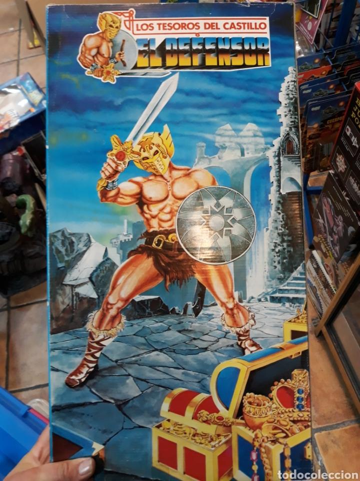 Figuras Masters del Universo: Disfraz con hacha escudo y máscara MÁSTERS DEL UNIVERSO bootleg - Foto 4 - 119284019