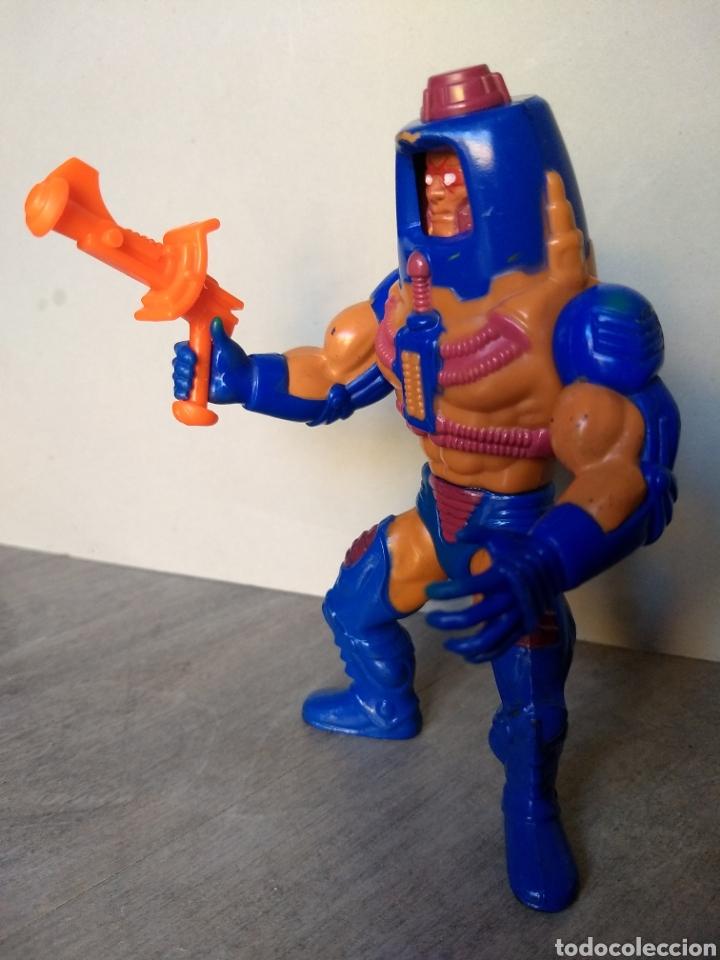 MAN E FACES FRANCE 100% COMPLETO - MOTU MASTERS DEL UNIVERSO HE-MAN MATTEL (Juguetes - Figuras de Acción - Master del Universo)