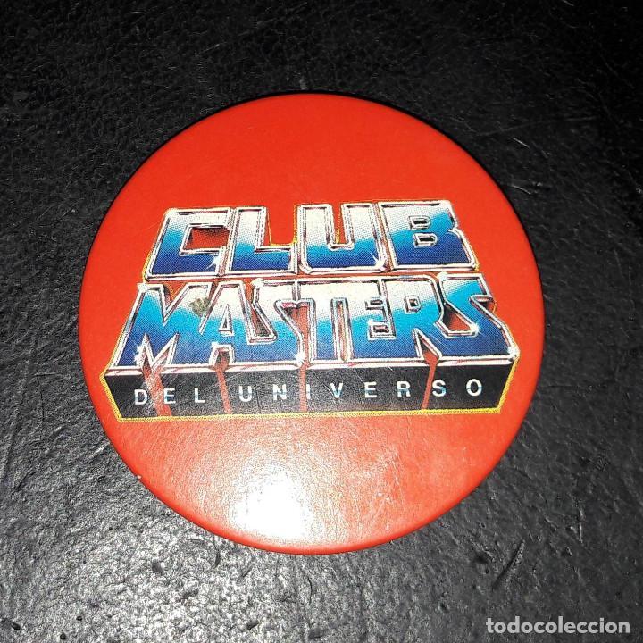 CHAPA OFICIAL CLUB MASTERS DEL UNIVERSO (Juguetes - Figuras de Acción - Master del Universo)