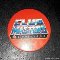 Figuras Masters del Universo: CHAPA OFICIAL CLUB MASTERS DEL UNIVERSO. Lote 123053703