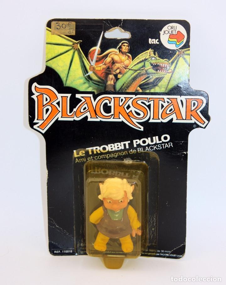 BLACKSTAR - TROBBIT POULO - BLISTER NUEVO Y NUNCA JUGADO - 1983 - GALOOB FILMATION - MOTU HEMAN (Juguetes - Figuras de Acción - Master del Universo)