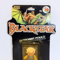 Figuras Masters del Universo: BLACKSTAR - TROBBIT POULO - BLISTER NUEVO Y NUNCA JUGADO - 1983 - GALOOB FILMATION - MOTU HEMAN. Lote 129642770