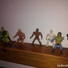 Figuras Masters del Universo: MOTU - MASTERS DEL UNIVERSO - 1981 Y 1983 - LOTE DE 6 FIGURAS Y UNA NAVE - ¡¡¡ POR SOLO 1.- EURO !!!. Lote 130731379