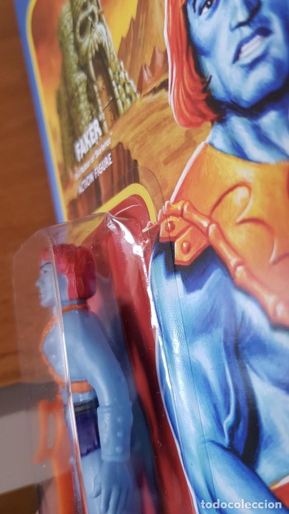 Figuras Masters del Universo: FAKER MASTERS DEL UNIVERSO MOTU REACTION SUPER 7 SUPER7 EN BLISTER NEW - Foto 3 - 131417714
