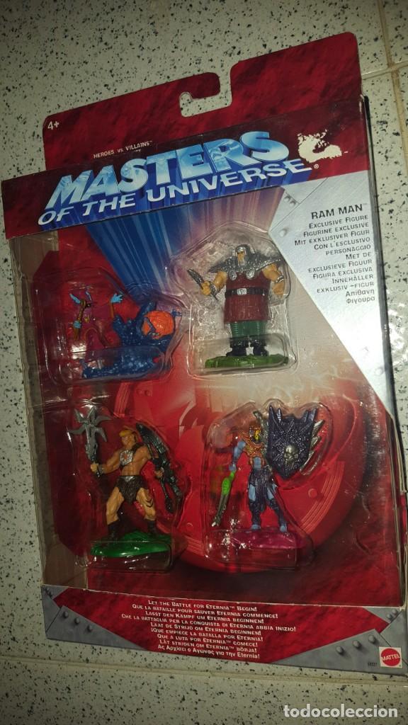 MASTERS DEL UNIVERSO MASTERS OF THE UNIVERSE (Juguetes - Figuras de Acción - Master del Universo)