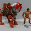 Figuras Masters del Universo: STALKER Y HE-MAN, MÁSTERS DEL UNIVERSO, CABALLO DE BATALLA. Lote 133831110