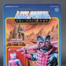 Figuras Masters del Universo: MER-MAN SUPER7 REACTION POWERCON LOS AMOS EXCLUSIVO NEW MOTU MASTERS DEL UNIVERSO. Lote 136121698