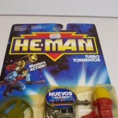 Figuras Masters del Universo: HE-MAN EN BLISTER ORIGINAL TURBO TORMENTOR. Lote 137551770
