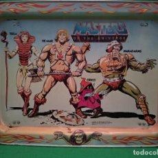 Figuras Masters del Universo: MASTERS DEL UNIVERSO BANDEJA DESAYUNO MUY RARA Y MUY DIFÍCIL DE VER AÑO 1982 DE MATTEL MOTU. Lote 139893742