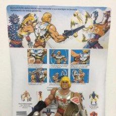Figuras Masters del Universo: HE-MAN PUÑO BOLEADOR FLYING FISTS + CARTA ESPAÑOLA FACSIMIL MOTU MASTERS DEL UNIVERSO HEMAN HE-MAN. Lote 143316218