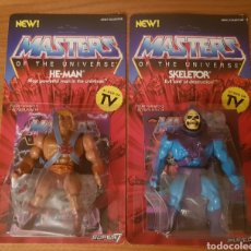 Figuras Masters del Universo: HE-MAN & SKELETOR VINTAGE MOTU NEOVINTAGE MASTERS OF THE UNIVERSE SUPER7 HE-MAN NEW. Lote 144165898