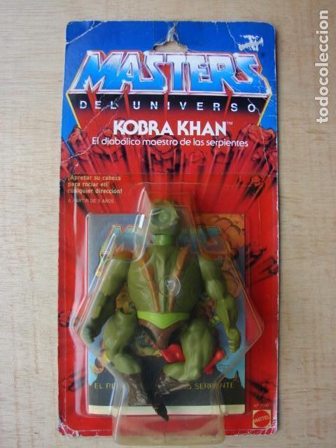 KOBRA KHAN EN BLISTER - MASTERS DEL UNIVERSO - MATTEL (Juguetes - Figuras de Acción - Master del Universo)