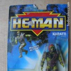 Figuras Masters del Universo: KARATTI - HE-MAN - MATTEL. Lote 145487426