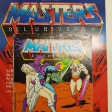 Figuras Masters del Universo: MINICOMIC MASTERS DEL UNIVERSO MOTU HEMAN MATTEL HEMAN MOTU. Lote 146336061