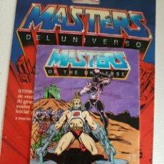 Figuras Masters del Universo: MINICOMIC MASTERS DEL UNIVERSO MOTU HEMAN MATTEL. Lote 146712345