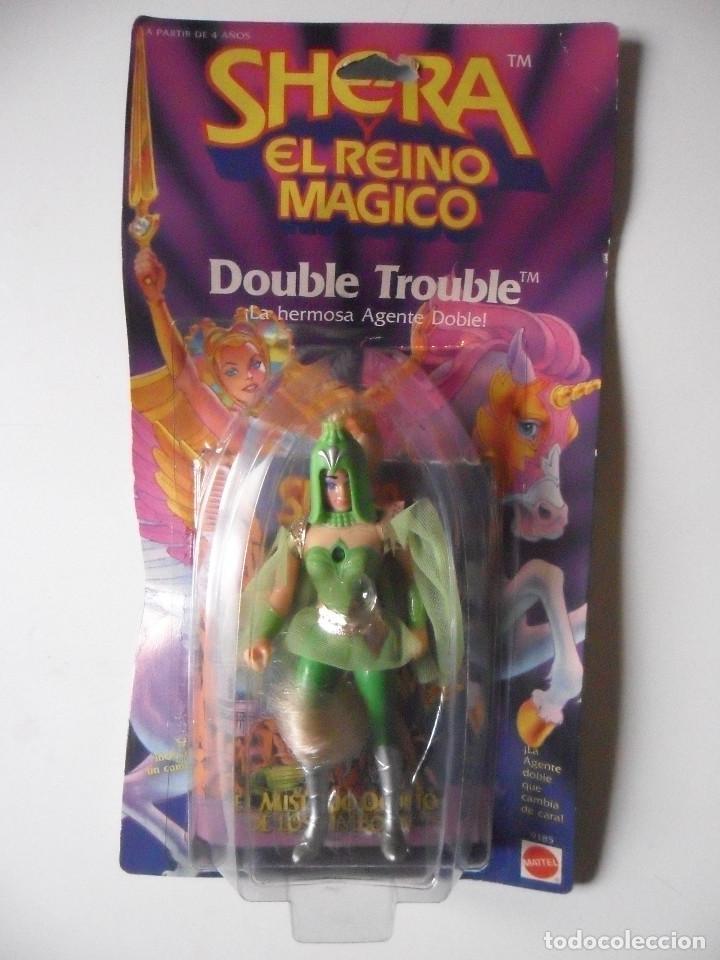 MOTU SHERA SHE-RA EL REINO MAGICO FROSTA FIGURA BLISTER SPAIN CONGOST MATTEL 1986 (Juguetes - Figuras de Acción - Master del Universo)