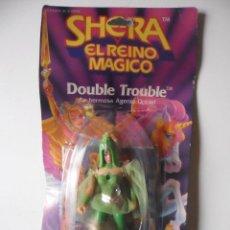 Figuras Masters del Universo: MOTU SHERA SHE-RA EL REINO MAGICO FROSTA FIGURA BLISTER SPAIN CONGOST MATTEL 1986. Lote 146880282