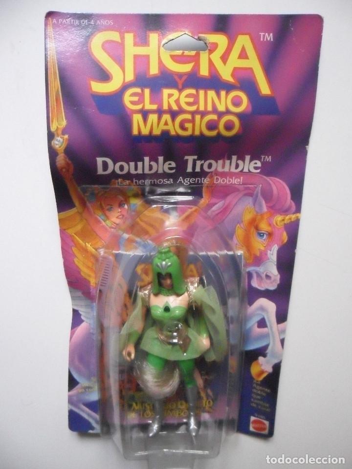 Figuras Masters del Universo: MOTU SHERA SHE-RA EL REINO MAGICO FROSTA FIGURA BLISTER SPAIN CONGOST MATTEL 1986 - Foto 2 - 146880282