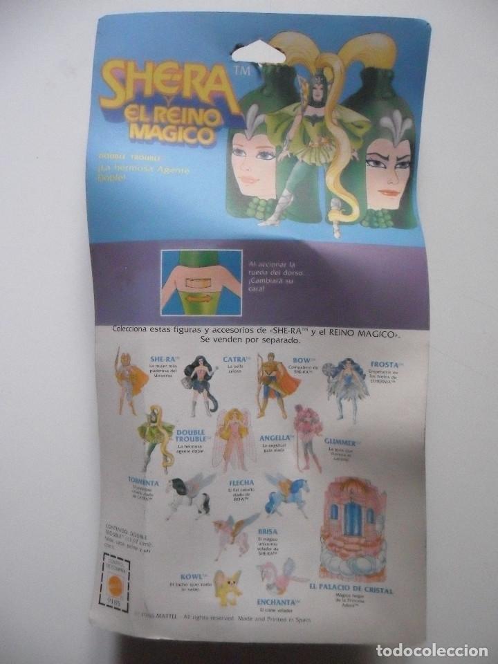 Figuras Masters del Universo: MOTU SHERA SHE-RA EL REINO MAGICO FROSTA FIGURA BLISTER SPAIN CONGOST MATTEL 1986 - Foto 5 - 146880282