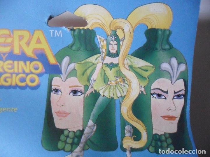 Figuras Masters del Universo: MOTU SHERA SHE-RA EL REINO MAGICO FROSTA FIGURA BLISTER SPAIN CONGOST MATTEL 1986 - Foto 7 - 146880282