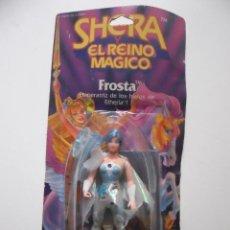 Figuras Masters del Universo: MOTU SHERA SHE-RA EL REINO MAGICO FROSTA FIGURA BLISTER SPAIN CONGOST MATTEL 1986 . Lote 146880626
