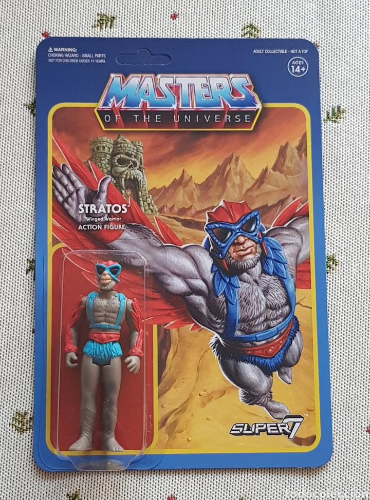 STRATOS REACTION WAVE3 SUPER7 NEW MASTERS DEL UNIVERSO HE-MAN MOTU (Juguetes - Figuras de Acción - Master del Universo)
