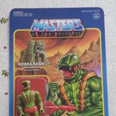 Figuras Masters del Universo: KOBRA KHAN REACTION WAVE3 SUPER7 NEW MASTERS DEL UNIVERSO HE-MAN MOTU. Lote 149479938