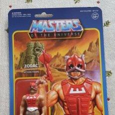 Figuras Masters del Universo: ZODAC REACTION WAVE3 SUPER7 NEW MASTERS UNIVERSO HE-MAN MOTU.. Lote 149570922