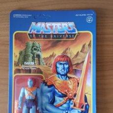 Figuras Masters del Universo: FAKER BLISTER REACTION WAVE 4 SUPER7 MASTERS UNIVERSO HE-MAN MOTU NUEVO NEW. Lote 148456782