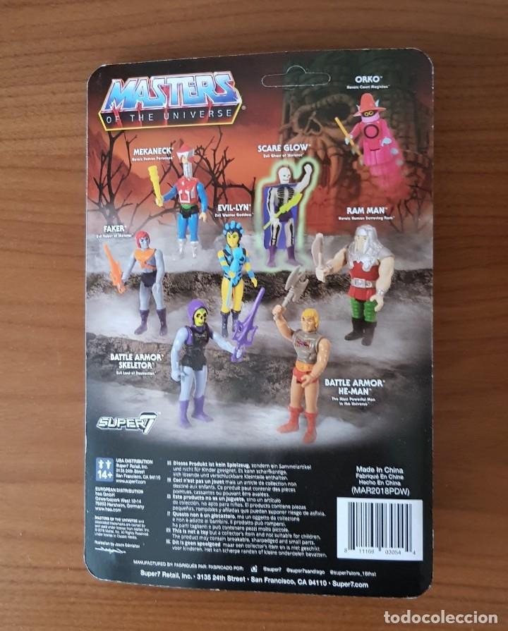 Figuras Masters del Universo: FAKER BLISTER REACTION WAVE 4 SUPER7 MASTERS UNIVERSO HE-MAN MOTU NUEVO NEW - Foto 2 - 148456782