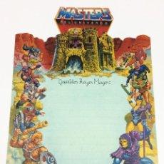 Figuras Masters del Universo: MASTERS DEL UNIVERSO - CARTA DE REYES MAGOS. MATTEL. MOTU. 1985.. Lote 153433594