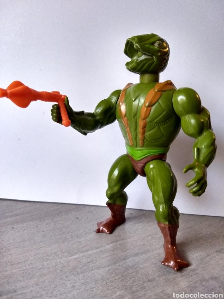 KOBRA KHAN (FRANCE) - 100% COMPLETO MOTU MASTERS DEL UNIVERSO HEMAN HE-MAN MATTEL (Juguetes - Figuras de Acción - Master del Universo)