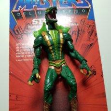 Figuras Masters del Universo: KOBRA KHAN 200X CON DEFECTOS MASTERS DEL UNIVERSO MOTU HEMAN MATTEL. Lote 158245666