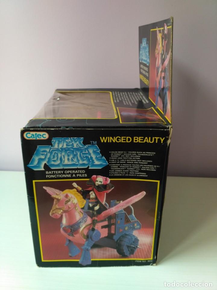 Figuras Masters del Universo: caja winged beauty tek force nuevo a estrenar vintage epoca masters del universo heman - Foto 5 - 159444874
