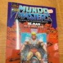 Figuras Masters del Universo: REVISTA MUNDO MASTERS 2 MASTERS DEL UNIVERSO HE-MAN SKELETOR. Lote 160565438