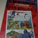 Figuras Masters del Universo: MINICOMIC BATTLE BONES MASTERS DEL UNIVERSO MOTU HEMAN MATTEL. Lote 160557468