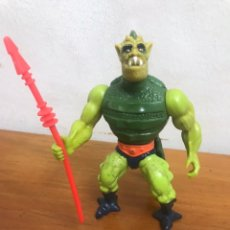 Figuras Masters del Universo: MOTU VINTAGE WHIPLASH HONG KONG LIGHT GREEN, MASTER OF THE UNIVERSE. Lote 159322202