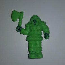 Figuras Masters del Universo: MASTERS DEL UNIVERSO - RAM MAN MINIFIGURA TIPO DUNKIN PVC BIMBO PANRICO CROPAN. Lote 160811634