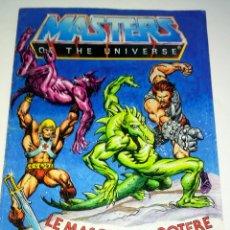 Figuras Masters del Universo: MINI COMIC MASTERS UNIVERSO MOTU MINICOMIC LIBRETO HE-MAN SKELETOR 2. Lote 160893386