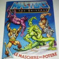 Figuras Masters del Universo: MINI COMIC MASTERS UNIVERSO MOTU MINICOMIC LIBRETO HE-MAN SKELETOR 3. Lote 243928645