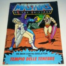 Figuras Masters del Universo: MINI COMIC MASTERS UNIVERSO MOTU MINICOMIC LIBRETO HE-MAN SKELETOR 5. Lote 160894074