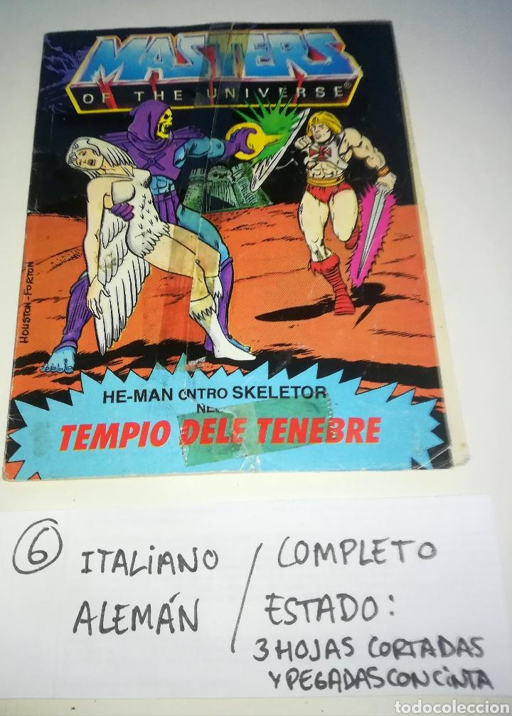 Figuras Masters del Universo: Mini comic masters universo motu minicomic libreto he-man skeletor 6 - Foto 2 - 160894234