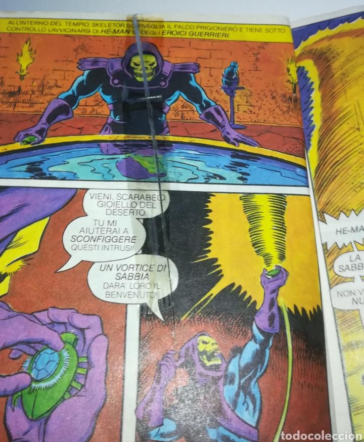 Figuras Masters del Universo: Mini comic masters universo motu minicomic libreto he-man skeletor 6 - Foto 5 - 160894234