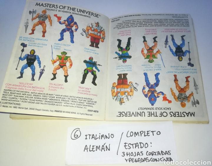 Figuras Masters del Universo: Mini comic masters universo motu minicomic libreto he-man skeletor 6 - Foto 7 - 160894234