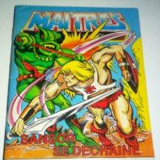 Figuras Masters del Universo: MINI COMIC MASTERS UNIVERSO MOTU MINICOMIC LIBRETO HE-MAN SKELETOR 8. Lote 160894828