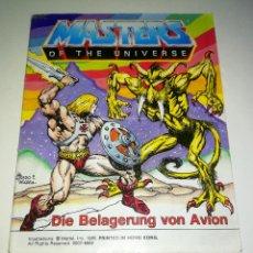 Figuras Masters del Universo: MINI COMIC MASTERS UNIVERSO MOTU MINICOMIC LIBRETO HE-MAN SKELETOR 10. Lote 160895242
