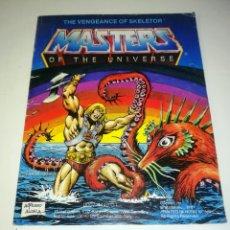 Figuras Masters del Universo: MINI COMIC MASTERS UNIVERSO MOTU MINICOMIC LIBRETO HE-MAN SKELETOR 11. Lote 160895322