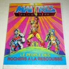 Figuras Masters del Universo: MINI COMIC MASTERS UNIVERSO MOTU MINICOMIC LIBRETO HE-MAN SKELETOR 12. Lote 160895629