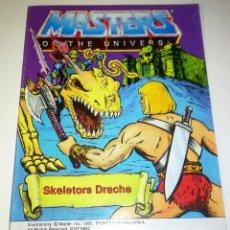 Figuras Masters del Universo: MINI COMIC MASTERS UNIVERSO MOTU MINICOMIC LIBRETO HE-MAN SKELETOR 13. Lote 160895702